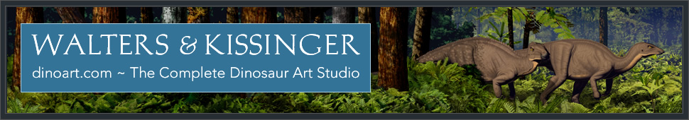 Walters and Kissinger The Complete Dinosaur Art Studio