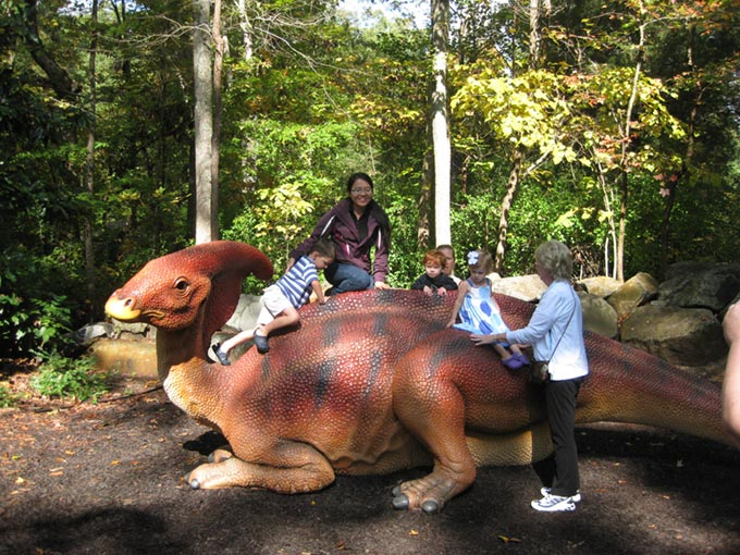 NC Museum of Life and Science Dinosaur Trail